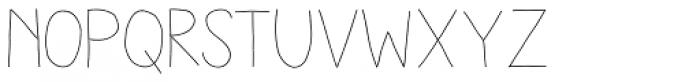 Aracne Soft Light Font LOWERCASE