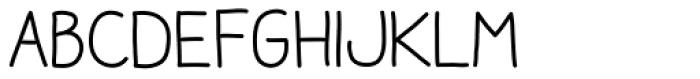 Aracne Soft Font LOWERCASE