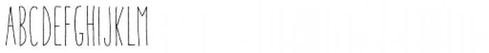 Aracne Ultra Condensed Light Font LOWERCASE