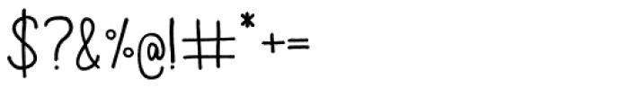 Aracne Font OTHER CHARS