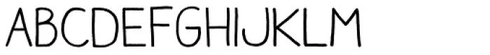 Aracne Font LOWERCASE