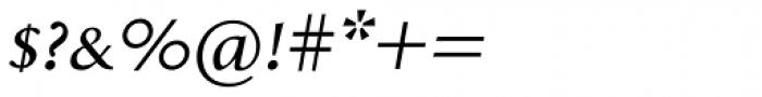 Aragon SC Italic Font OTHER CHARS