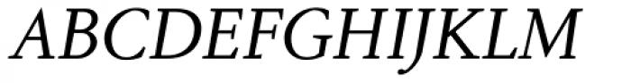 Aragon SC Italic Font UPPERCASE