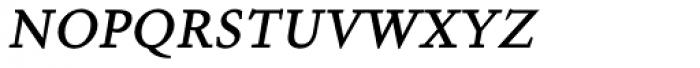 Aragon SC Italic Font LOWERCASE