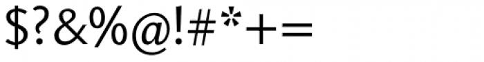 Aragon Sans Font OTHER CHARS