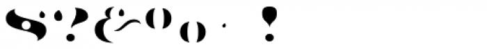 Aramara Chromatic Dot Fill Font OTHER CHARS