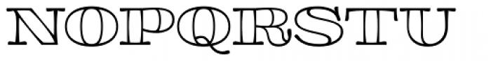 Aramara Chromatic Engraved Font UPPERCASE