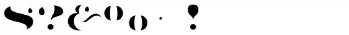 Aramara Chromatic Fill Font OTHER CHARS