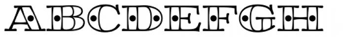 Aramara Chromatic Font UPPERCASE