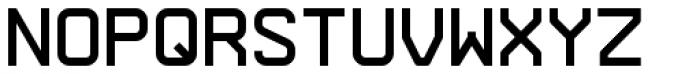 Arame Mono Regular Font UPPERCASE