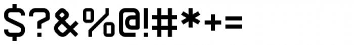 Arame Regular Font OTHER CHARS