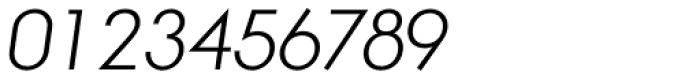 Aramis Light Italic Font OTHER CHARS