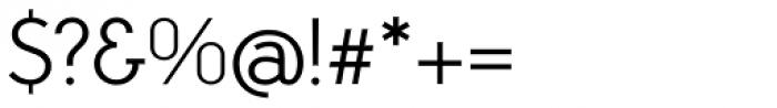 Aramis Semi Light Font OTHER CHARS