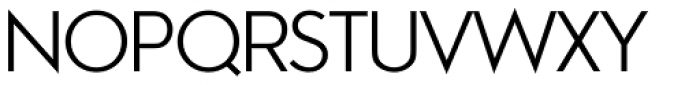 Aramis Semi Light Font UPPERCASE
