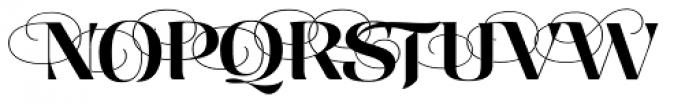 Aranjuez Pro Font UPPERCASE