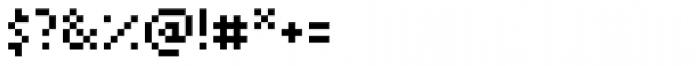 Arapix Font OTHER CHARS