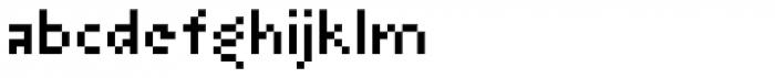 Arapix Font LOWERCASE