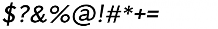 Arazati Expandida Oblicua Font OTHER CHARS