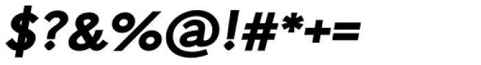 Arazati Exranegra Expandida Obicua Font OTHER CHARS