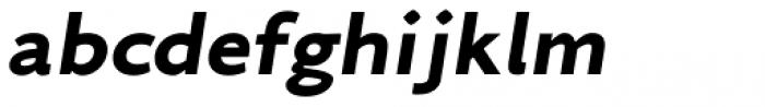 Arazati Exranegra Expandida Obicua Font LOWERCASE