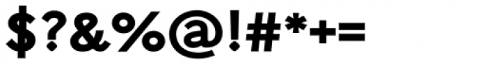 Arazati Extranegra Expandida Font OTHER CHARS