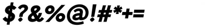 Arazati Extranegra Oblicua Font OTHER CHARS