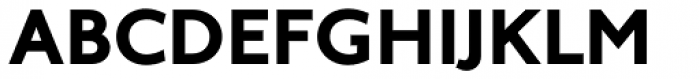 Arazati Extranegra Font UPPERCASE