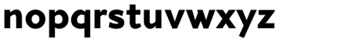 Arazati Extranegra Font LOWERCASE