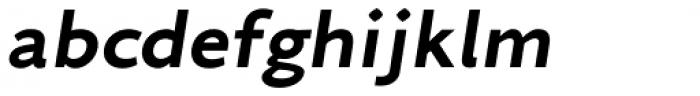 Arazati Negra Expandida Oblicua Font LOWERCASE