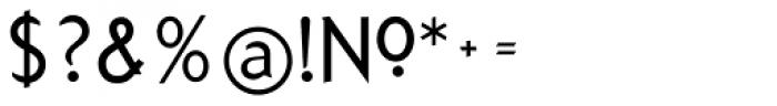 Arbitrary Regular Font OTHER CHARS