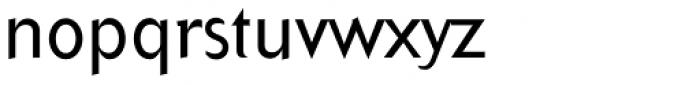 Arbitrary Regular Font LOWERCASE