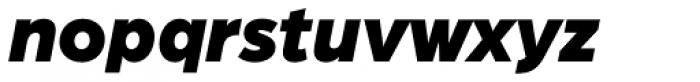 Arboria Black Italic Font LOWERCASE