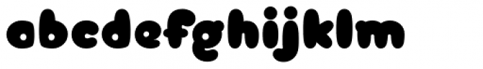 Arbuckle Black Font LOWERCASE