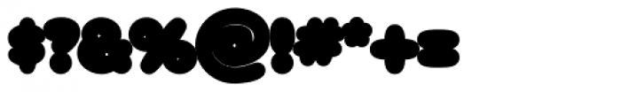 Arbuckle Contour Font OTHER CHARS