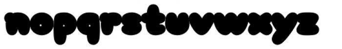 Arbuckle Contour Font LOWERCASE