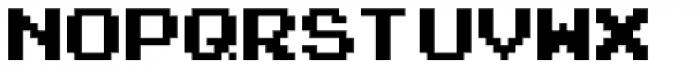 Arcade Classic 2003 Font LOWERCASE