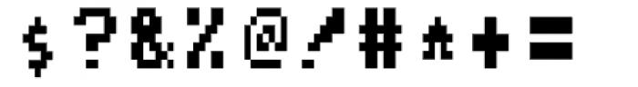 Arcade2003 Black Narrow Font OTHER CHARS