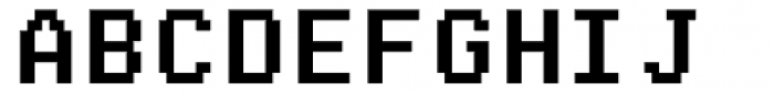 Arcade2003 Black Narrow Font UPPERCASE