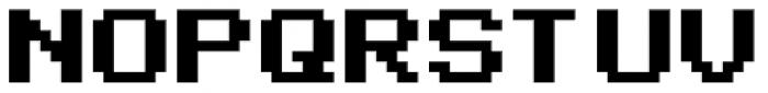 Arcade2003 Black Font UPPERCASE