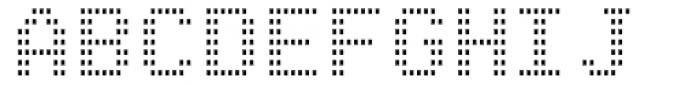 Arcade2003 Light Narrow Font UPPERCASE