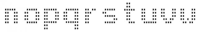 Arcade2003 Light Narrow Font LOWERCASE