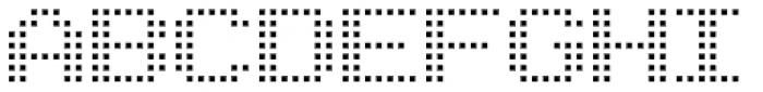 Arcade2003 Light Font UPPERCASE