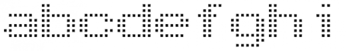 Arcade2003 Light Font LOWERCASE