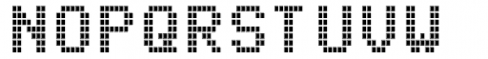 Arcade2003 Narrow Font UPPERCASE