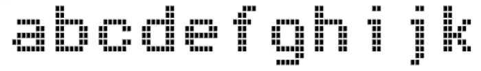 Arcade2003 Narrow Font LOWERCASE