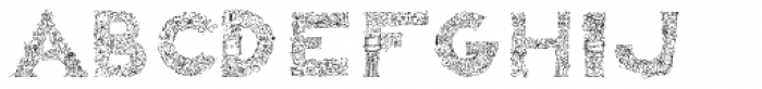 Arcano Font LOWERCASE
