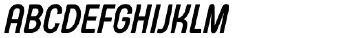Arch Cond Bold Oblique Font UPPERCASE