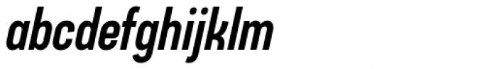 Arch Cond Bold Oblique Font LOWERCASE