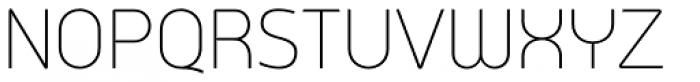 Arch Light Font UPPERCASE