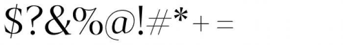 Archeron Pro Light Font OTHER CHARS